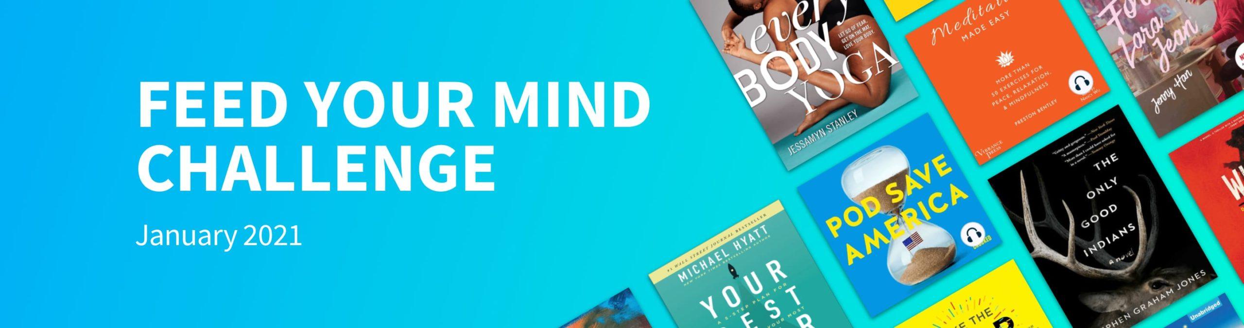 Scribd's Feed Your Mind Challenge kickoff