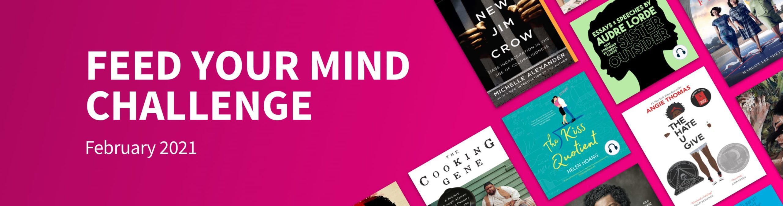 Scribd's February Feed Your Mind Challenge
