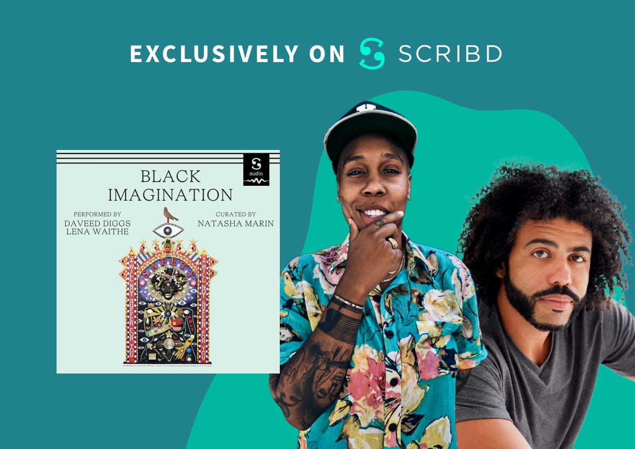 Daveed Diggs and Lena Waithe lend their voices to Scribd's audiobook version of 'Black Imagination'