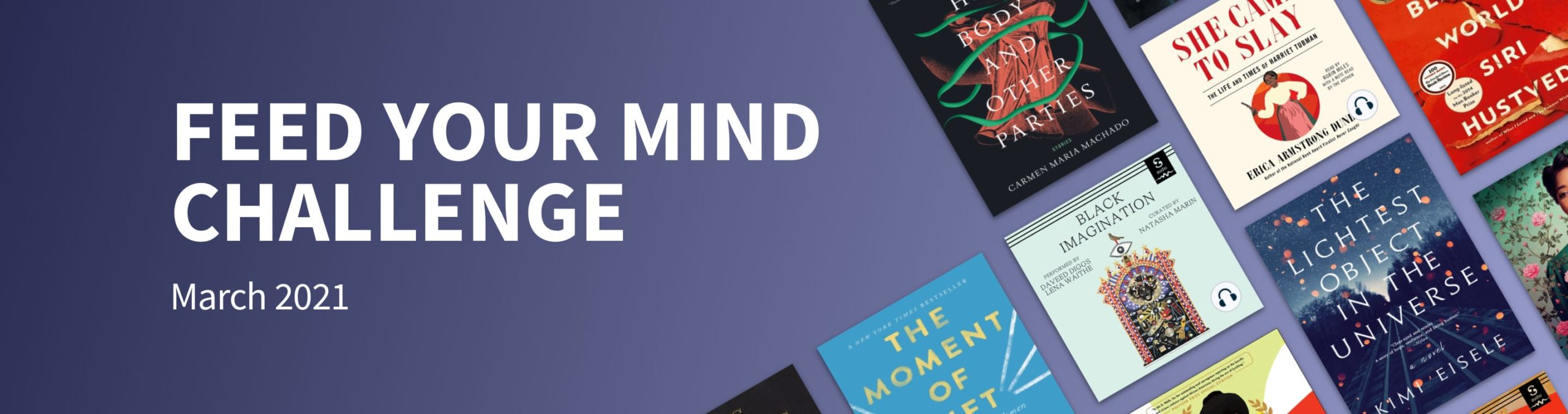 Scribd's March Feed Your Mind Challenge