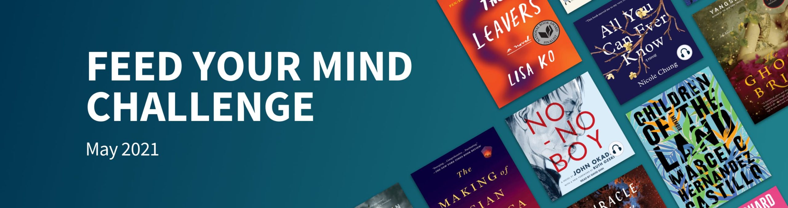 Scribd's May reading challenge