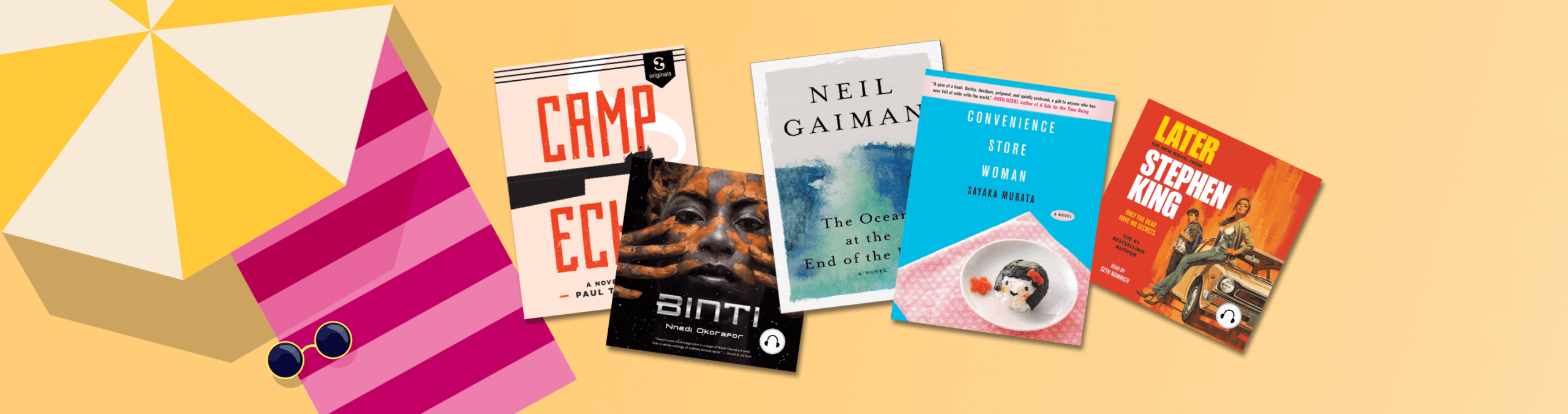 15 beach books you can read in one sitting