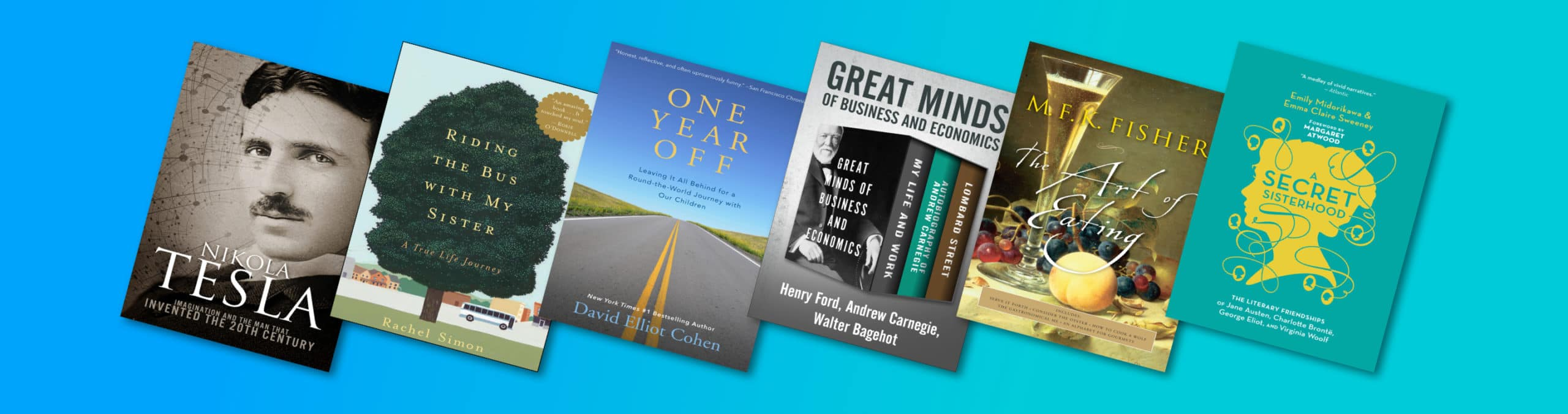 6 memoirs that will change the way you work and live
