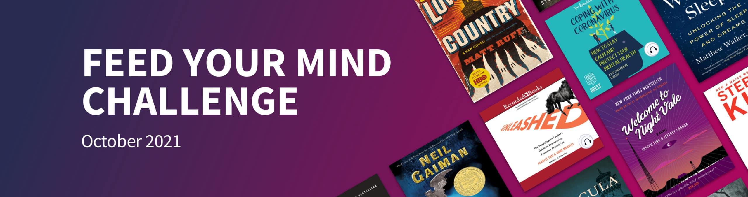 Scribd's October reading challenge