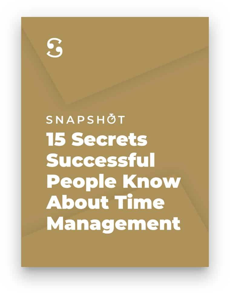 10 Snapshots to get your life together